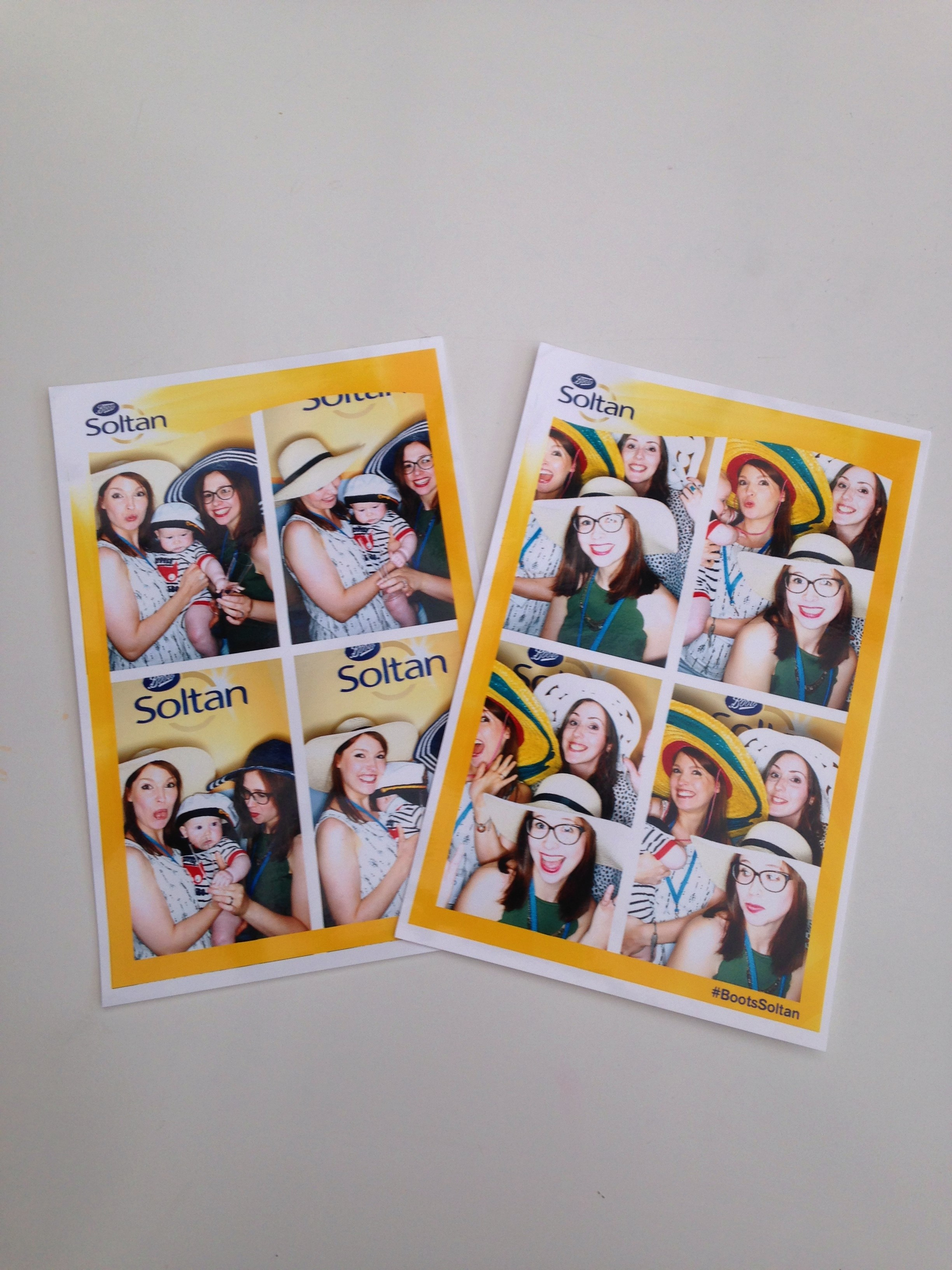Britmums Live Blogging Conference 2016 London #BML16 Boots Soltan Photo booth
