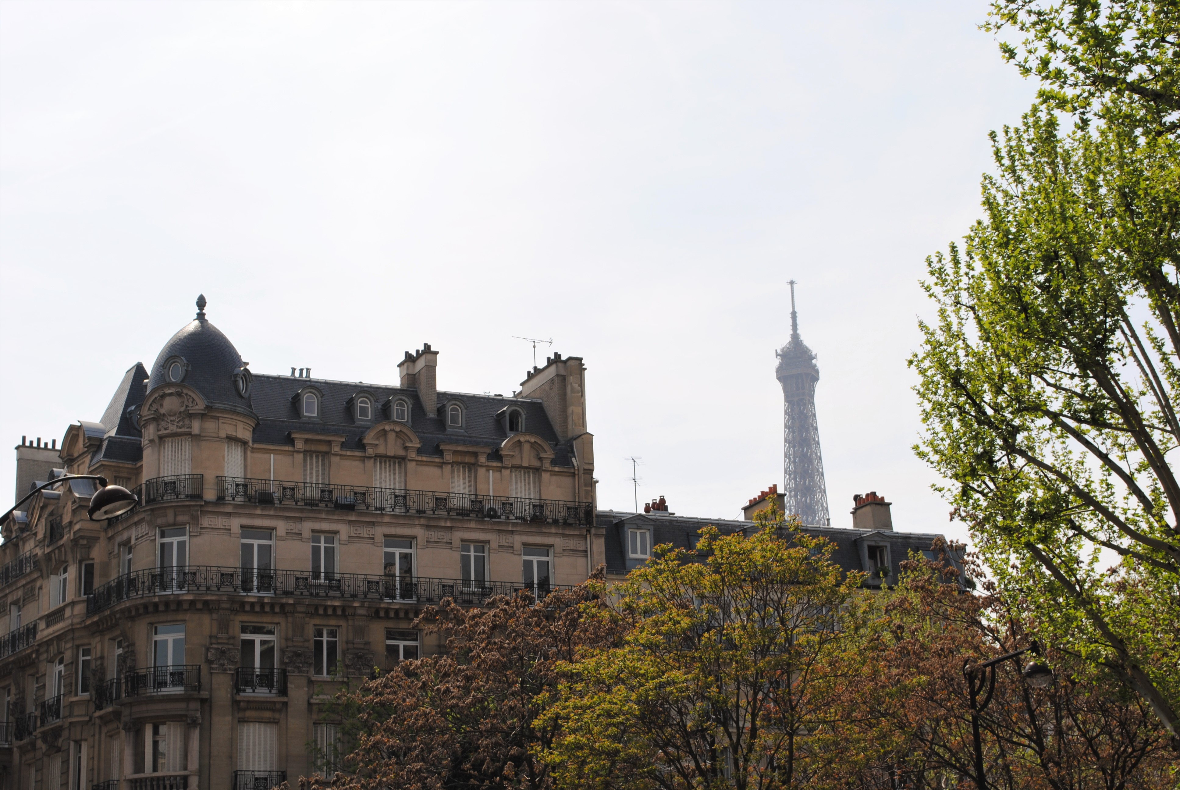 Travel Paris with a baby Eiffel Tower