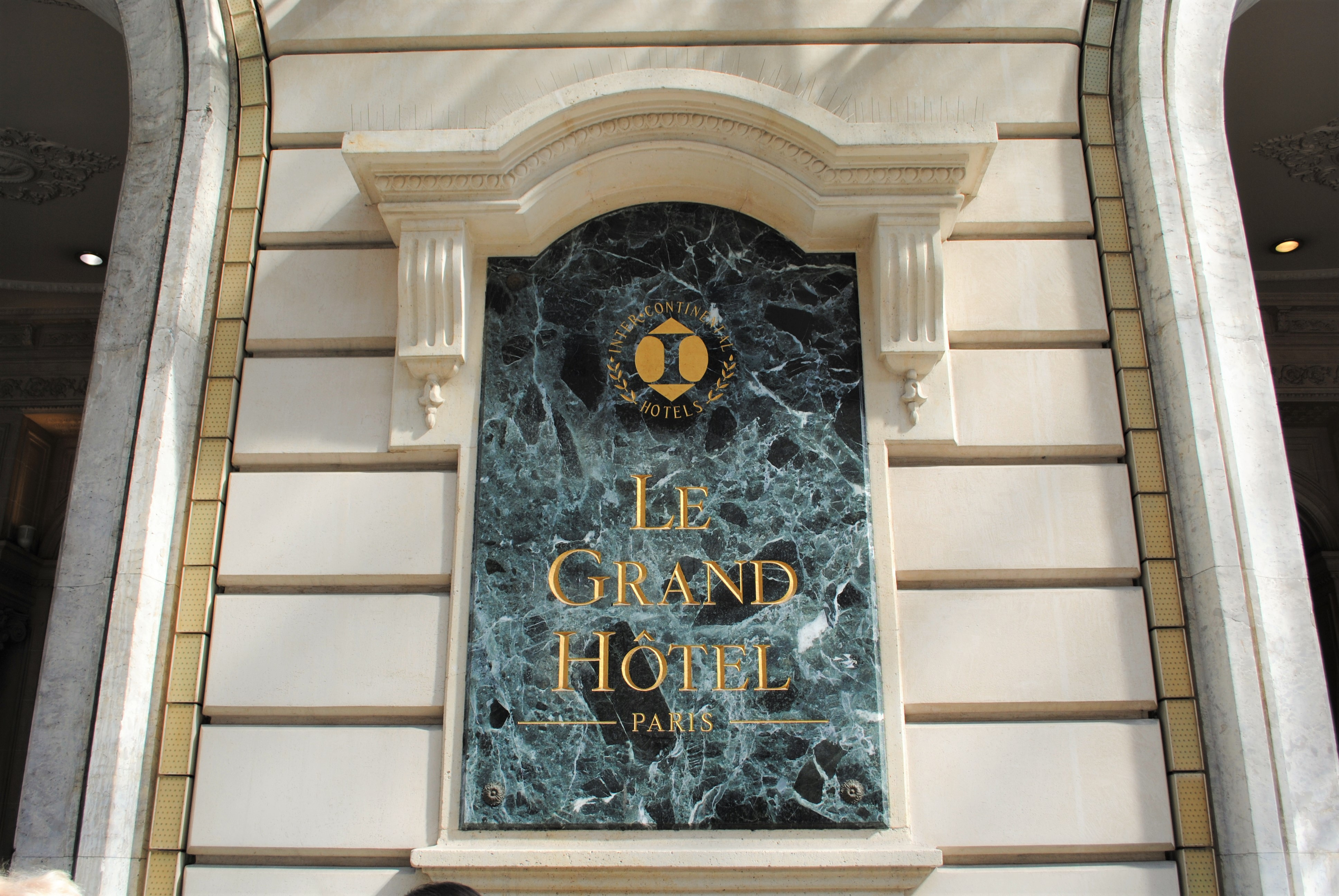 Travel Paris with a baby Le Grand Hotel