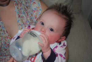 failed breastfeeding story bottle feeding