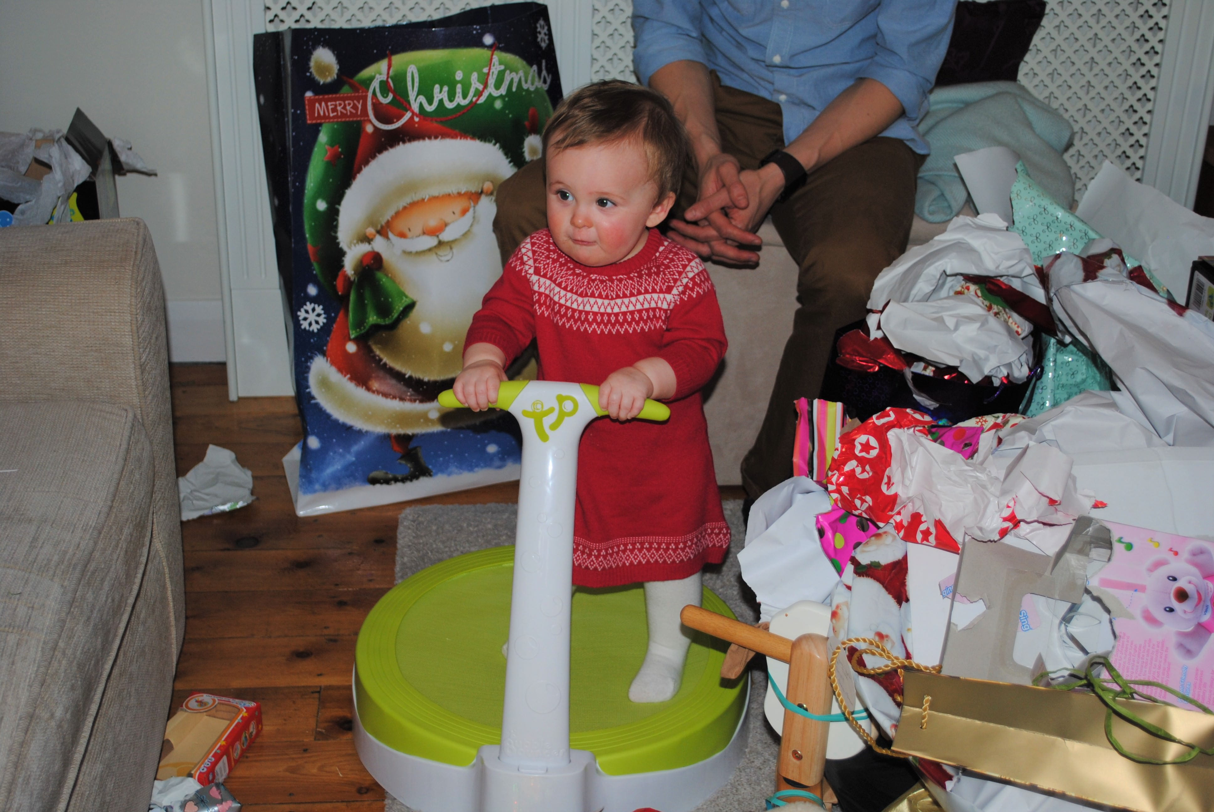 Eva's Baby's 1st Christmas Looking back