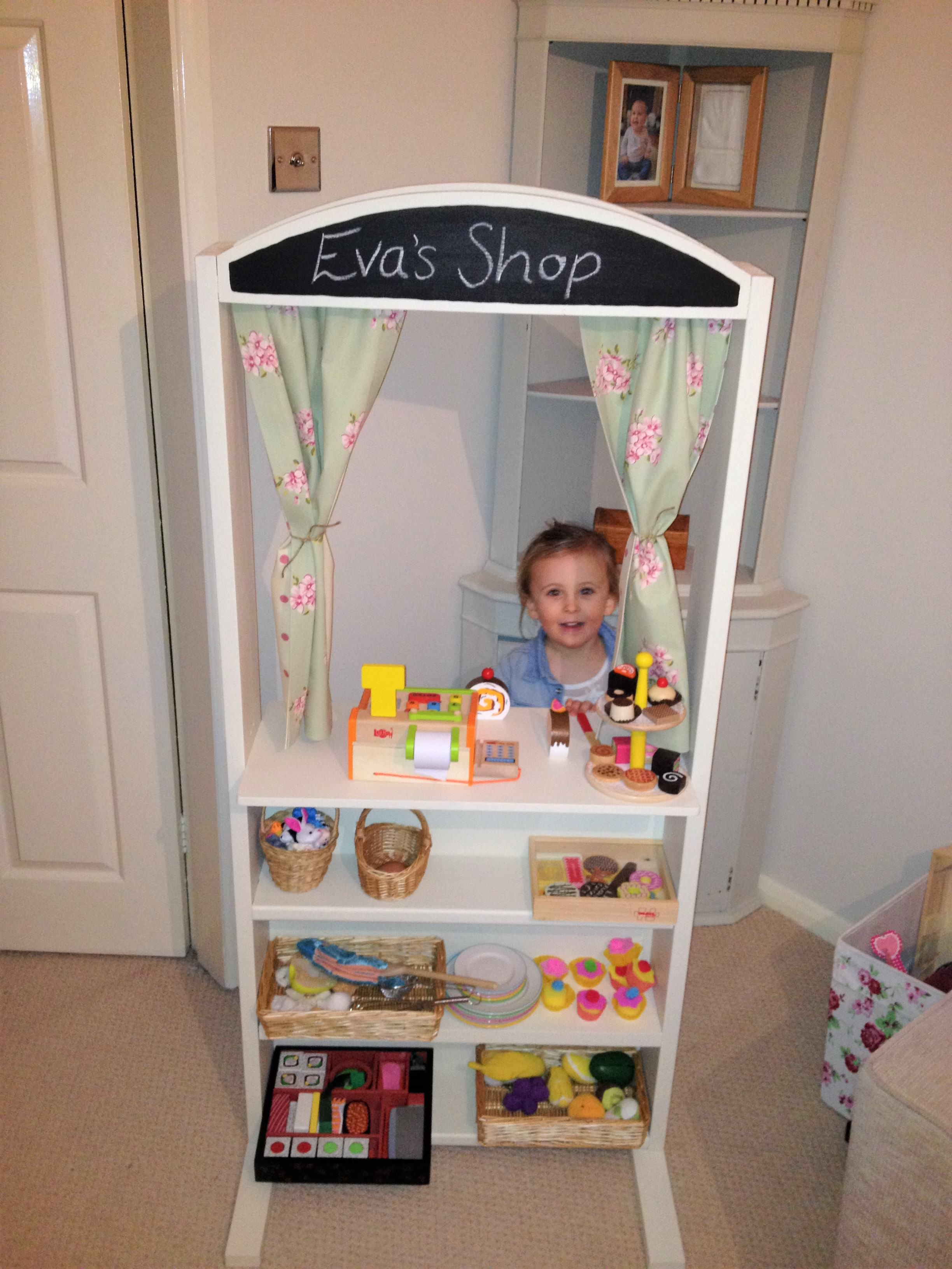Hand Made Wooden Play Shop & Puppet Theatre