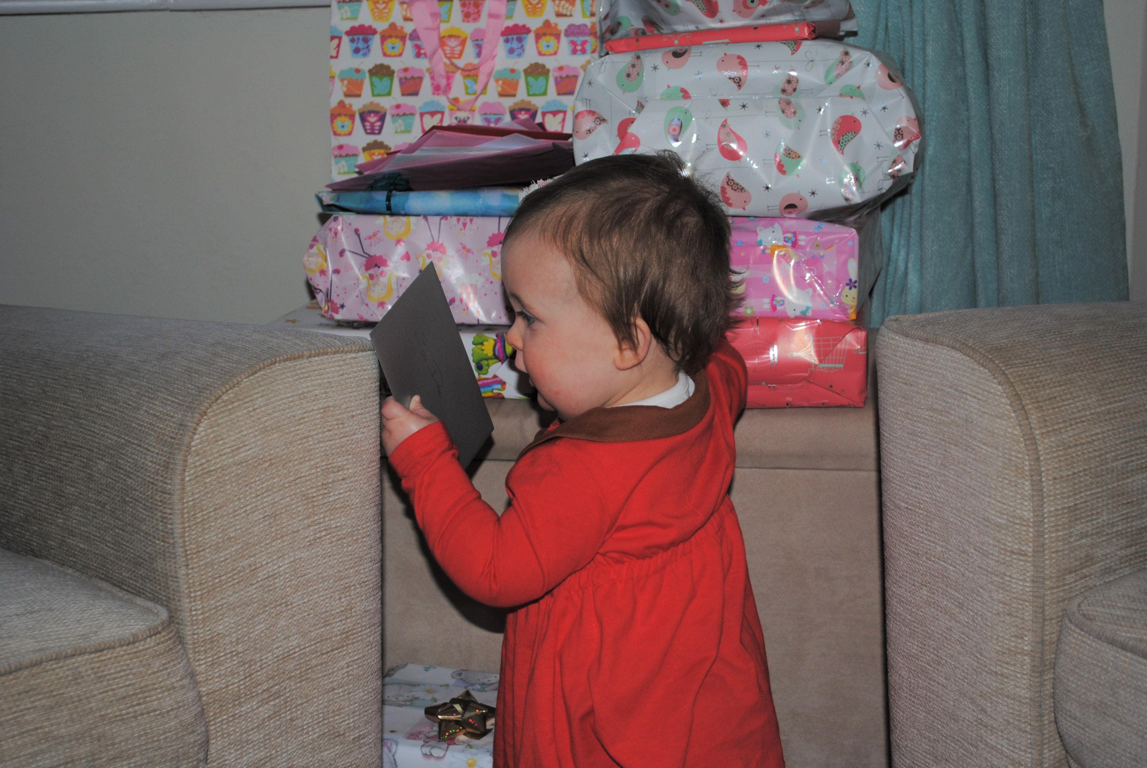 Eva's first birthday