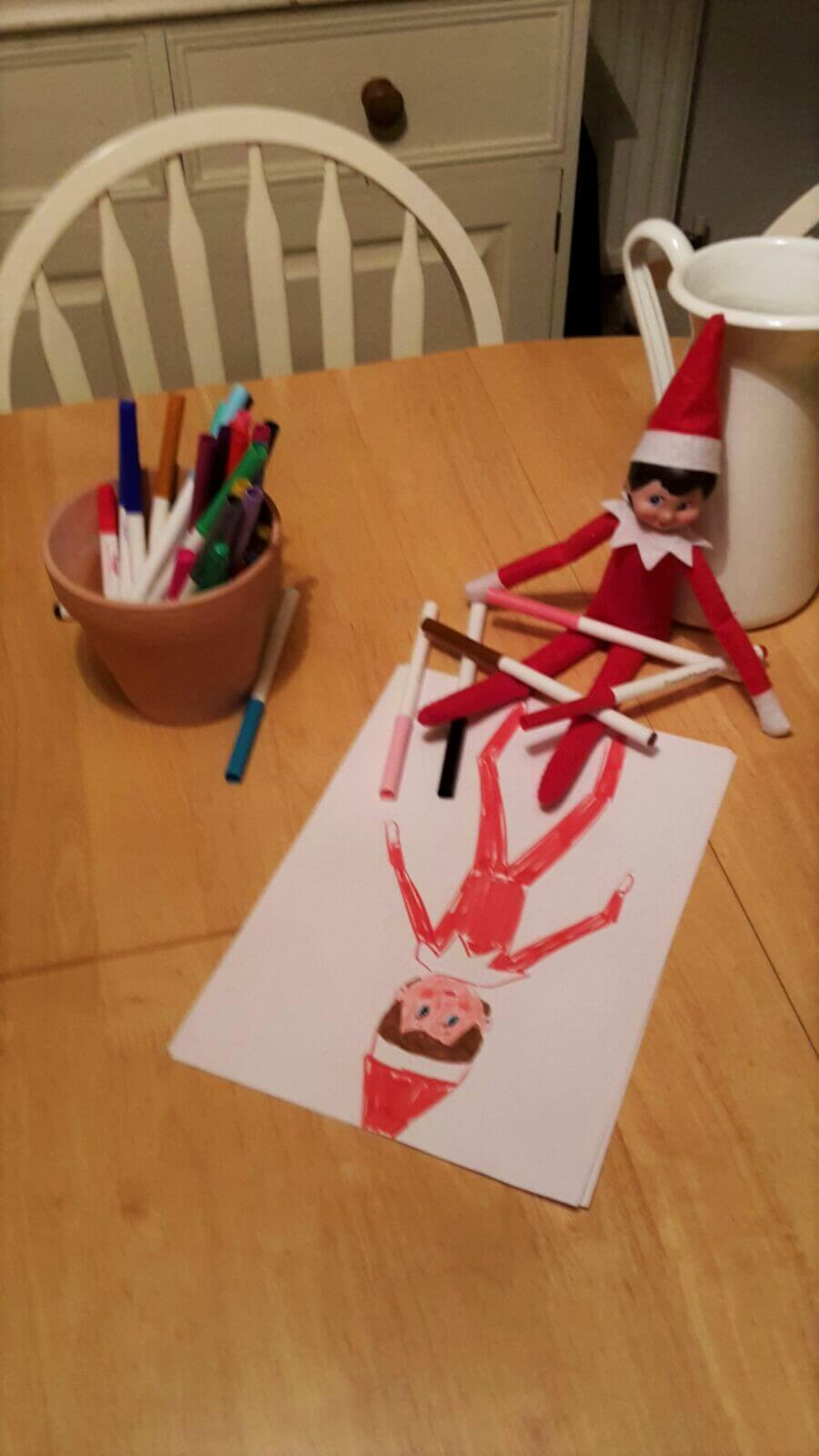 Elf On The shelf ideas a christmas tradition