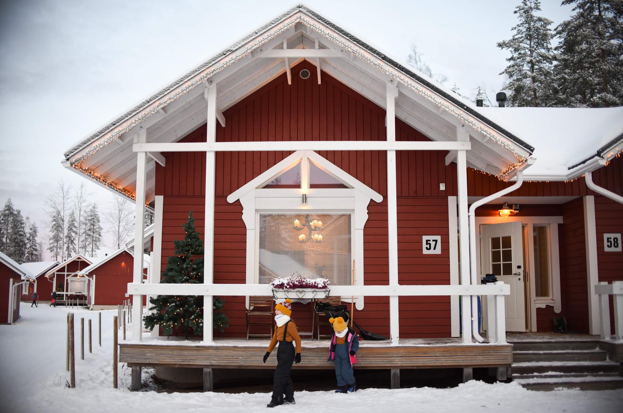 Lapland accommodation schv