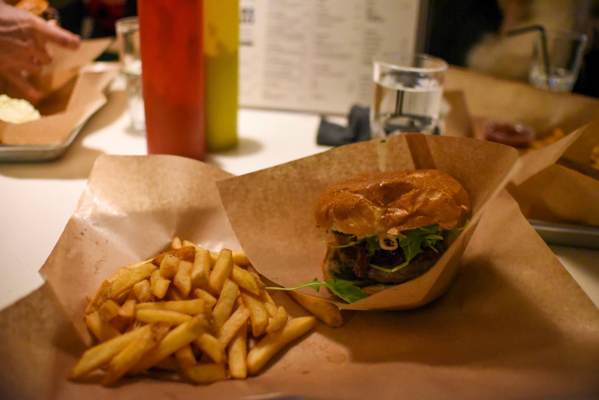Lapland Food Reindeer Burger